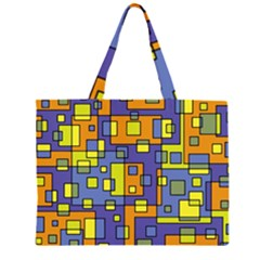 Square Background Background Texture Large Tote Bag