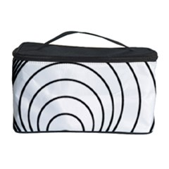 Spiral Eddy Route Symbol Bent Cosmetic Storage Case