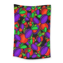 Plums And Peaches Small Tapestry