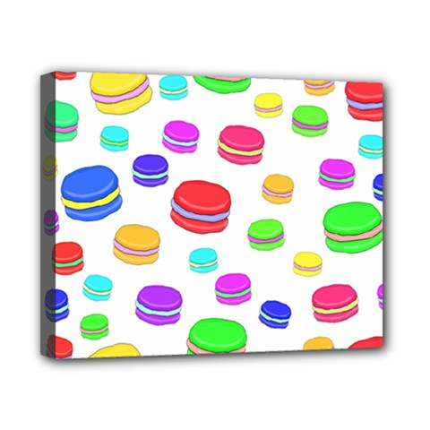Macaroons Canvas 10  x 8