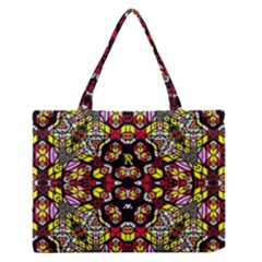 Queen Design 456 Medium Zipper Tote Bag