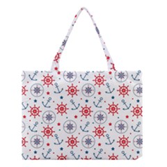 Compass Anchor Medium Tote Bag