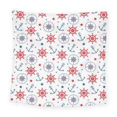 Compass Anchor Square Tapestry (large)