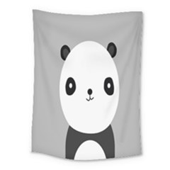 Cute Panda Animals Medium Tapestry