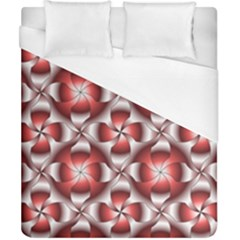 Floral Optical Illusion Duvet Cover (california King Size)