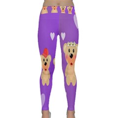 Happy Bears Cute Classic Yoga Leggings