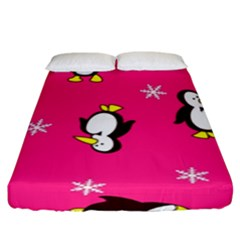 Penguin Fitted Sheet (king Size)