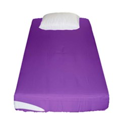 Purple Fitted Sheet (single Size)