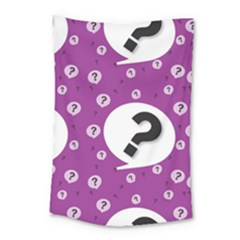 Question Mark Sign Small Tapestry