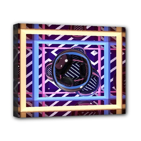Abstract Sphere Room 3d Design Canvas 10  X 8