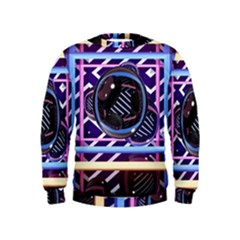 Abstract Sphere Room 3d Design Kids  Sweatshirt