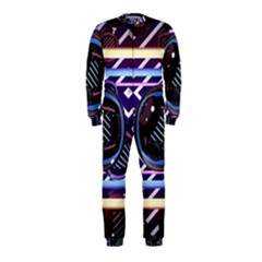 Abstract Sphere Room 3d Design OnePiece Jumpsuit (Kids)