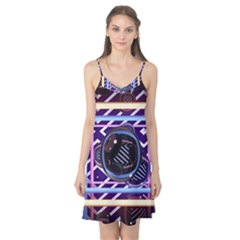 Abstract Sphere Room 3d Design Camis Nightgown