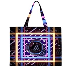 Abstract Sphere Room 3d Design Large Tote Bag