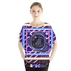 Abstract Sphere Room 3d Design Blouse
