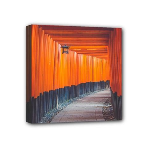 Architecture Art Bright Color Mini Canvas 4  X 4