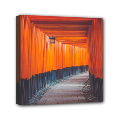 Architecture Art Bright Color Mini Canvas 6  X 6