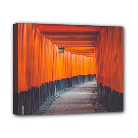 Architecture Art Bright Color Canvas 10  x 8