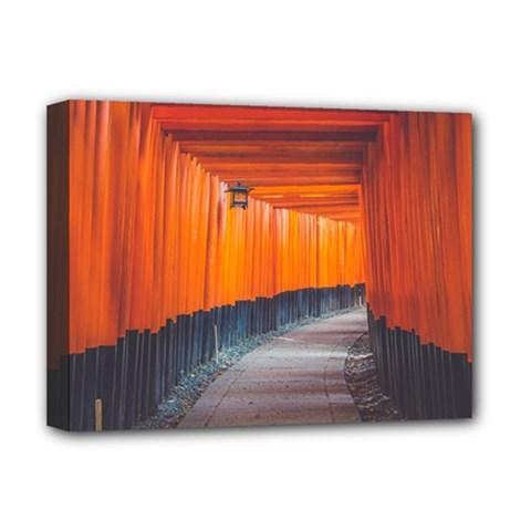 Architecture Art Bright Color Deluxe Canvas 16  X 12