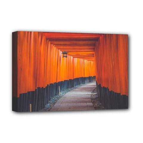Architecture Art Bright Color Deluxe Canvas 18  X 12