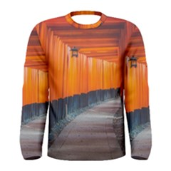 Architecture Art Bright Color Men s Long Sleeve Tee