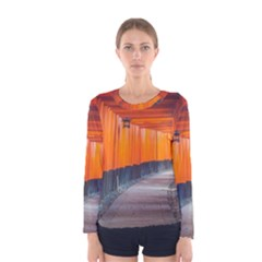 Architecture Art Bright Color Women s Long Sleeve Tee