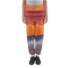 Architecture Art Bright Color Women s Jogger Sweatpants