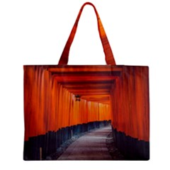 Architecture Art Bright Color Medium Tote Bag