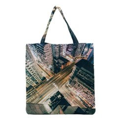 Architecture Buildings City Grocery Tote Bag