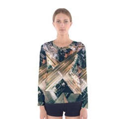 Architecture Buildings City Women s Long Sleeve Tee