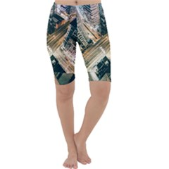 Architecture Buildings City Cropped Leggings