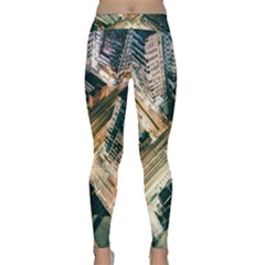 Architecture Buildings City Classic Yoga Leggings