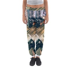 Architecture Buildings City Women s Jogger Sweatpants