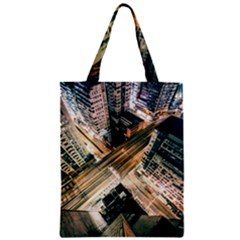 Architecture Buildings City Zipper Classic Tote Bag