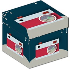 Camera Vector Illustration Storage Stool 12