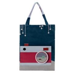 Camera Vector Illustration Classic Tote Bag