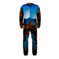 Hamburg City Blue Hour Night Onepiece Jumpsuit (kids)
