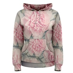 Cloves Flowers Pink Carnation Pink Women s Pullover Hoodie