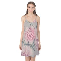 Cloves Flowers Pink Carnation Pink Camis Nightgown