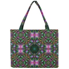 Digital Kaleidoscope Mini Tote Bag
