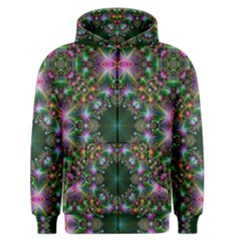 Digital Kaleidoscope Men s Zipper Hoodie