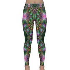 Digital Kaleidoscope Classic Yoga Leggings