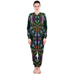 Digital Kaleidoscope Onepiece Jumpsuit (ladies)