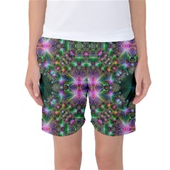 Digital Kaleidoscope Women s Basketball Shorts
