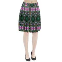 Digital Kaleidoscope Pleated Skirt