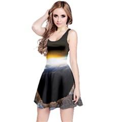 Door Breakthrough Door Sunburst Reversible Sleeveless Dress