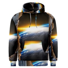 Door Breakthrough Door Sunburst Men s Pullover Hoodie
