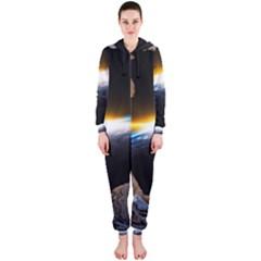 Door Breakthrough Door Sunburst Hooded Jumpsuit (ladies)