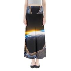 Door Breakthrough Door Sunburst Maxi Skirts