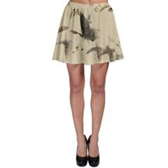 Vintage Old Fashioned Antique Skater Skirt